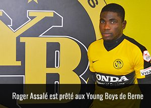 Roger Assalé Youngs Boys de Berne