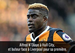 Alfred N'Diaye à Hull City et buteur