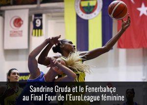 Sandrine Gruda au final Four