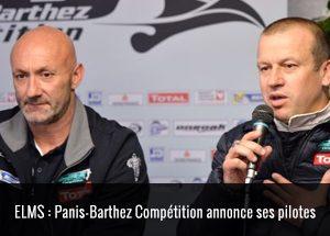 Panis-Barthez Compétition