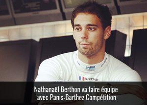Nathanael Berthon avec Panis Barthez Compétition