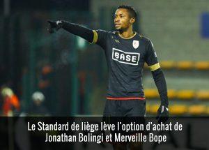 Merveille Bope et Jonathan Bolingi
