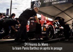 Team Panis Barthez