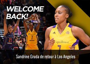 Sandrine Gruda - Los Angeles