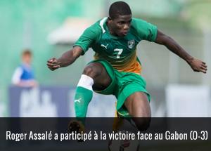 Roger Assalé face au Gabon
