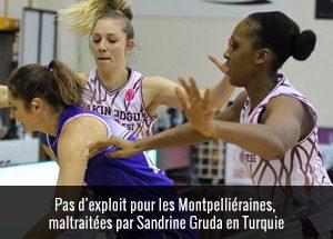 Sandrine Gruda en turquie