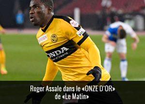 Roger Assale dans le onze d'or de Le Matin
