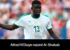 Alfred N'Diaye rejoint Al-Shabab