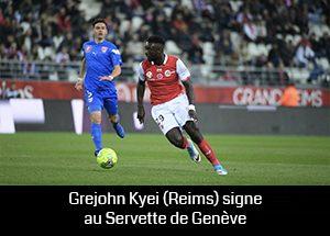 Grejohn Kyei signe au Servette de Genève